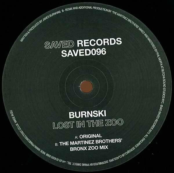 Burnski – Lost In The Zoo (Saved) 7/10