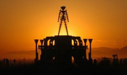 Смотрите передачу ABC о Burning Man образца 1997 года