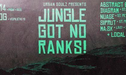 Продолжение серии мероприятий Jungle Got No Ranks