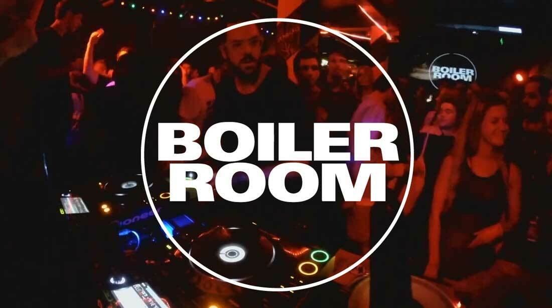 Boiler Room в Австралии: Recloose