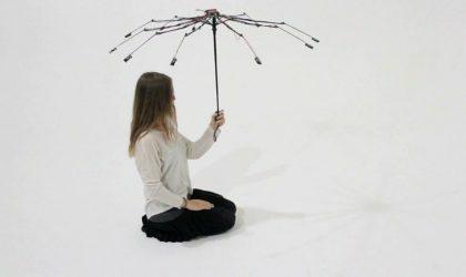 Музыку теперь можно слушать при помощи звукового зонтика