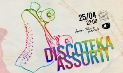 25 апреля в арт-кафе Cita Puse мероприятие Discoteka Assorti с классикой хауса