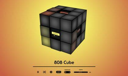 Roland TR-808 соединили с кубиком Рубика в новом приложении Play It Inside