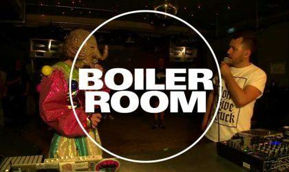 Смотрите один из самых нестандартных выпусков Boiler Room с участием Anklepants