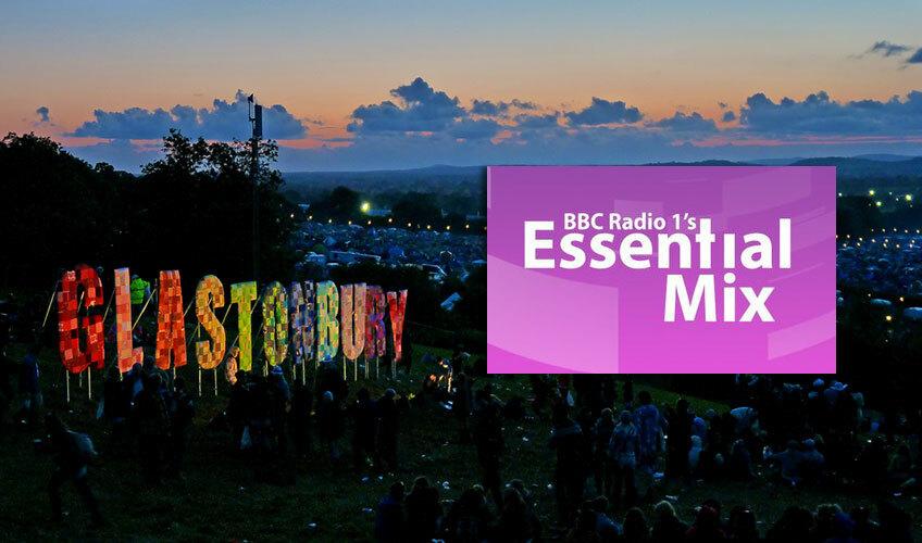 Essential Mix c фестиваля Glastonbury 2014
