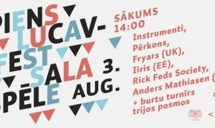 Второй Piens Fest этого года пройдет на Луцавсале