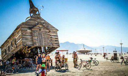 Организаторы Burning Man хотят увеличить число своих посетителей до 100 тыс. человек