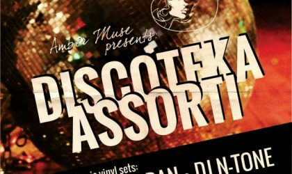 Amber Muse приглашает на Discoteka Assorti в эту субботу