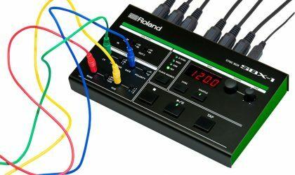 Компания Roland представила SBX-1 Sync Box