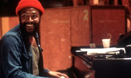 Смотрите редкую запись репетиции Marvin Gaye