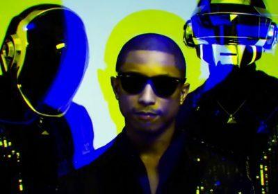 Смотрите тизер нового трека Daft Punk и Pharrell