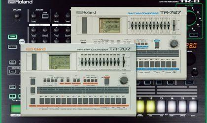 Roland внедряет в ритм-машину TR-8 звуки из 707-й