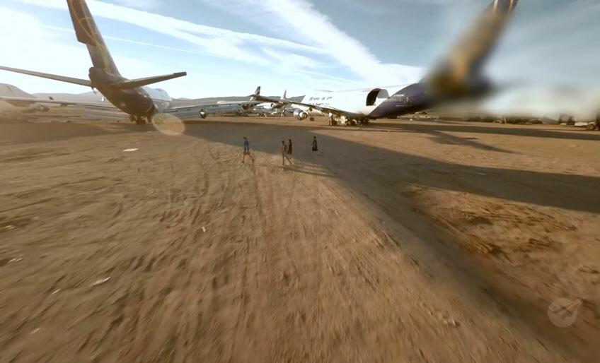 На Burning Man в этом году установят Boeing 747