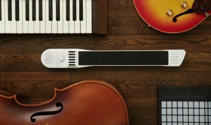 Создан миди-контроллер, на котором можно играть, как на гитаре