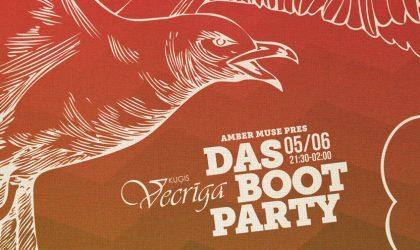 5 июня состоится первая летняя вечеринка Amber Muse на корабле – Das Boot
