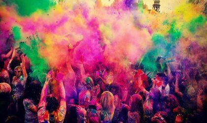 В августе в Риге состоится фестиваль красок Holi