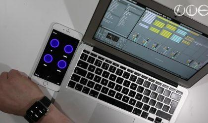 Ableton Live теперь можно управлять при помощи часов Apple Watch