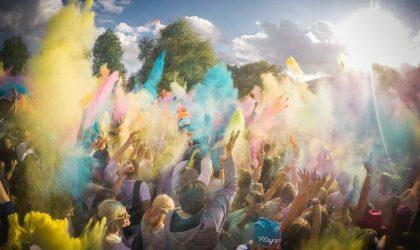 Фотографии с фестиваля красок Holi