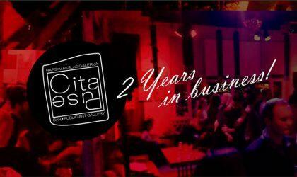 Арт-кафе Cita Puse отметит двухлетие