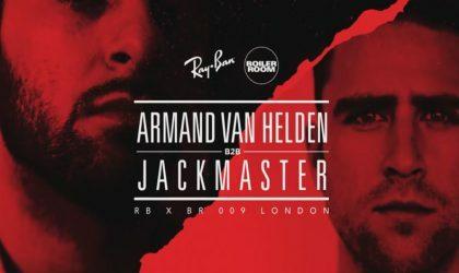Смотрите Boiler Room из Лондона c Армандом ван Хелденом и другими