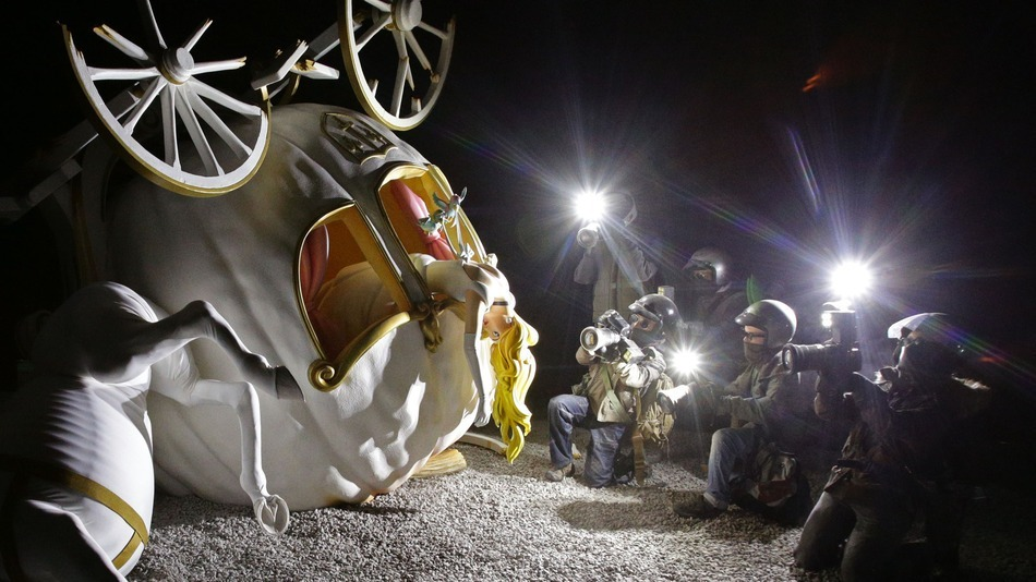 Dismaland от Бэнкси: «развлечения и анархизм» в крупнейшем проекте художника
