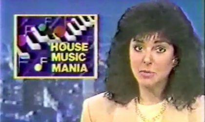 Смотрите первый телерепортаж о хаус-музыке в новостях Чикаго