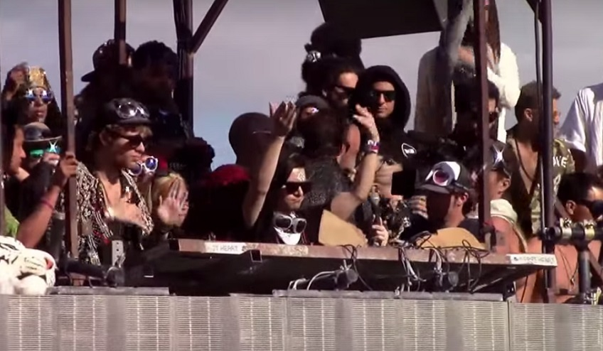 Skrillex @ Burning Man