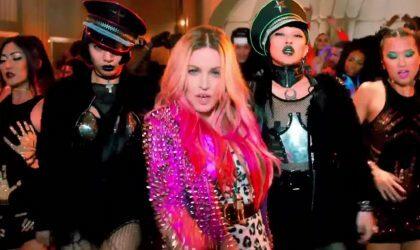 Смотрите пародийную версию клипа Мадонны «Bitch I'm Madonna»