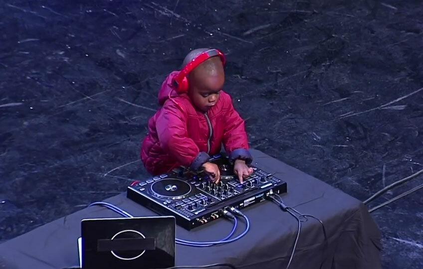 Трехлетний диджей взорвал шоу South Africa's Got Talent