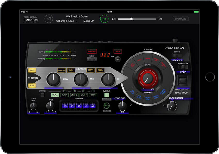 Pioneer RMX-1000 iOS
