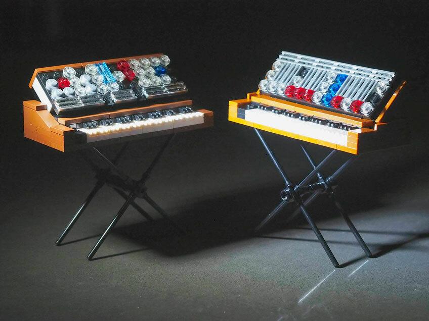 Голосуйте за пополнение комплекта Лего набором синтезаторов Minimoog