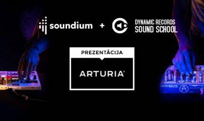 В Риге пройдет презентация аудиоинтерфейса Audiofuse от Arturia