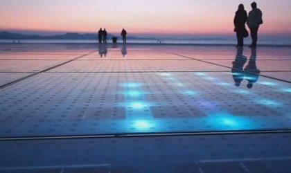 Видео инсталляций, играющих музыку при помощи волн, ветра и солнца