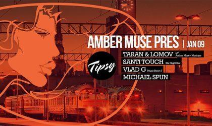 9 января Amber Muse проведет вечеринку в Лондоне