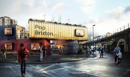 Новый магазин пластинок в лондонском Брикстоне откроется в грузовом контейнере