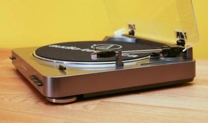 Audio-Technica выпустит беспроводной проигрыватель