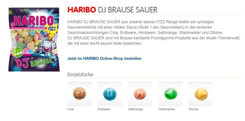 Haribo выпустила конфеты, напоминающие экстези