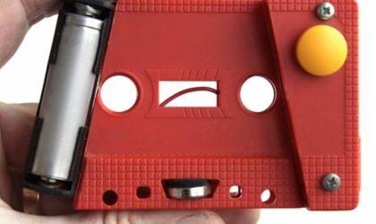 Француз Tapetronic превратил кассеты в музыкальный инструмент