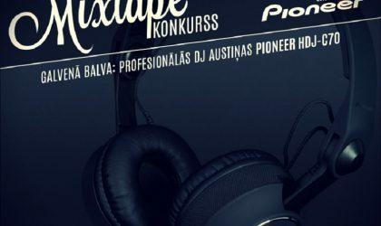 Rīgas DJ Skola и Pioneer объявили конкурс микстейпов