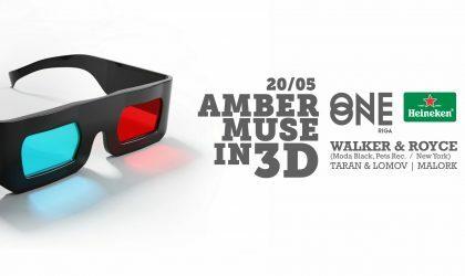 20 мая Amber Muse проведет 3D-вечеринку с участием Walker & Royce из Нью-Йорка