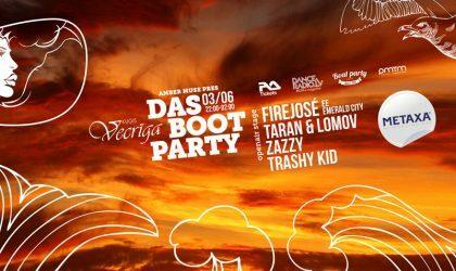 3 июня стартуют летние вечеринки Amber Muse's Das Boot на корабле