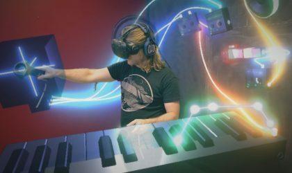 Музыку теперь можно продюсировать в собственной студии в виртуальной реальности