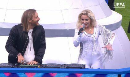 Публика раскритиковала выступление David Guetta на финале Euro 2016