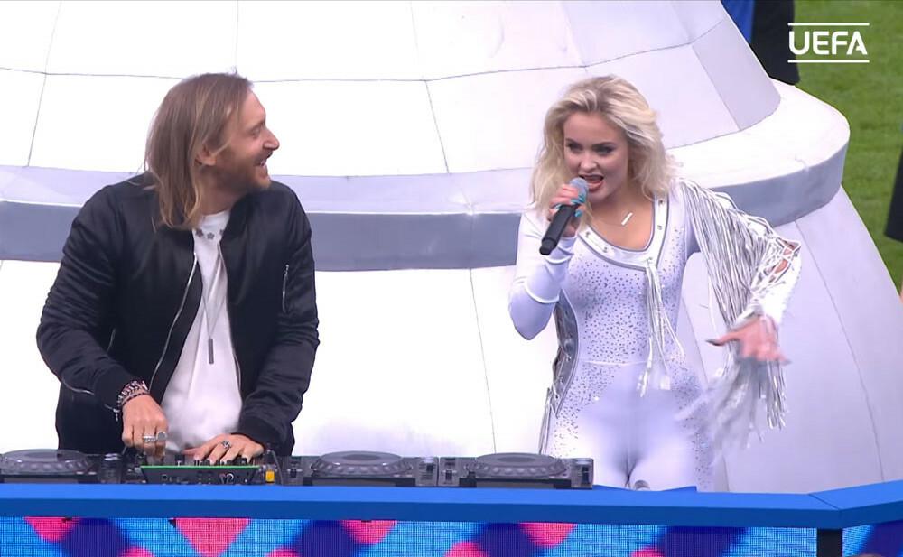 David Guetta at EURO 2016