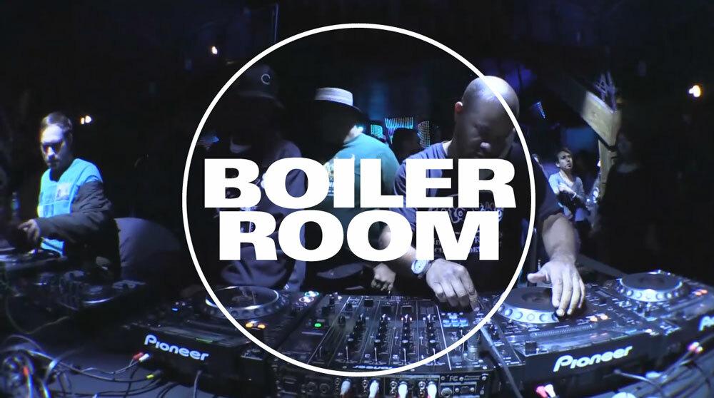 Boiler Room Terrence Parker