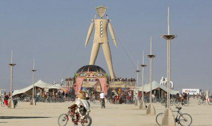 В Неваде стартовал ежегодный арт-фестиваль Burning Man