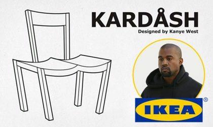 Поклонники Kanye West представили, как могла бы выглядеть его мебель для IKEA