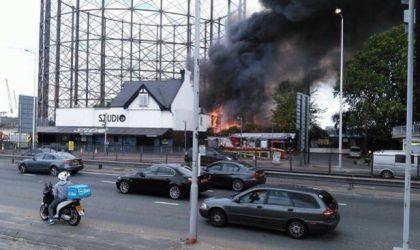 В Лондоне от огня пострадал клуб Studio 338