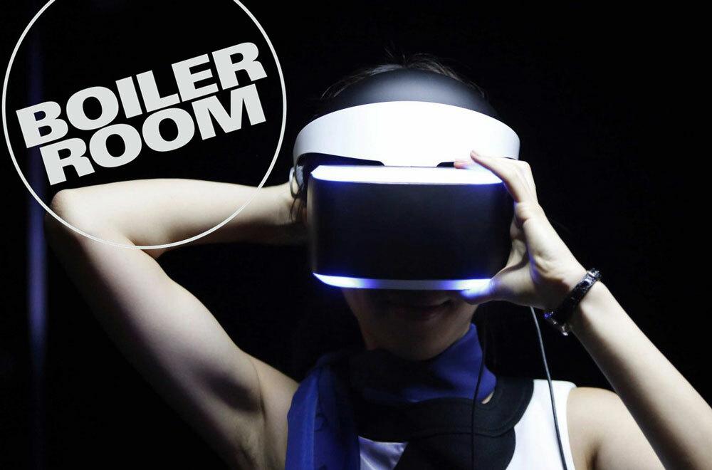 Boiler Room собирается открыть музыкальное пространство для виртуальной реальности