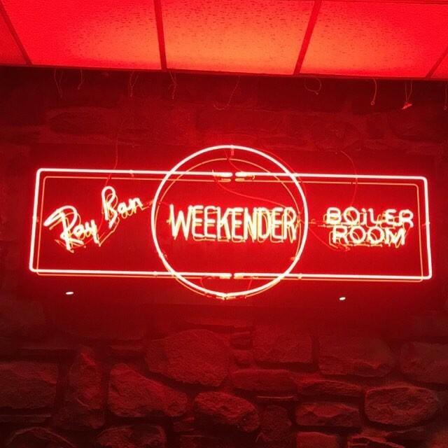 Boiler Room Weekender